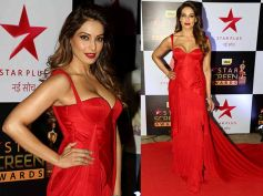 Bipasha Basu Looks Simply Gorgeous In This Red Hot Look At Star Screen Awards