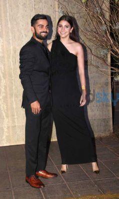 Kohli And Anushka Make A Stunning Couple At Manish Malhotras Birthday Bash