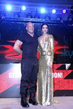 Deepika Padukone In Naeem Khan Gown For XXX INDIA Premiere