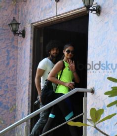 Ileana D'Cruz Snapped Post A Workout Session In Bandra