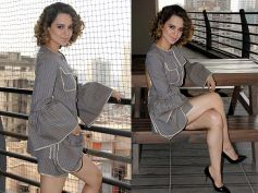 Kangana Ranaut In Vintage Look As She Promotes Rangoon