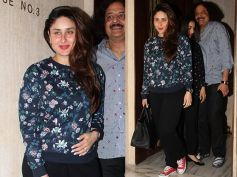 New Mommy Kareena Kapoor Snapped At Manish Malhotra's House