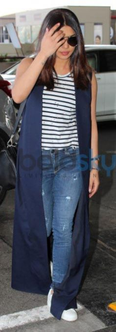Priyanka Chopra In Nikhil Thampi Coat