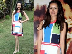 Shraddha Picked A Dsquared2 Dress For OK Jaanu Promotions