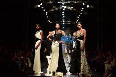 Designer Komal and Rahul Showstopper Prateek Babbar at AIFW 2017