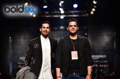Designer Sahil Aneja Showstopper Dino Morea At AIFW 2017
