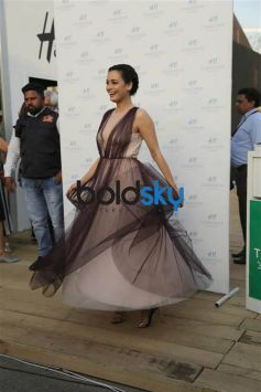 Dia Mirza for H&M at AIFW 2017
