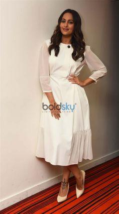 Sonakshi Sinha Promotes Noor In New Delhi