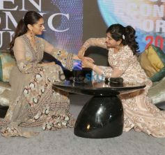 Aditi Rao Hydari At Women Economic Forum In New Delhi