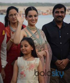 Kangana Ranaut Launch 20-Feet Poster OF Manikarnika The Queen Of Jhansi