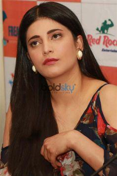 Shruti Haasan Promote Behen Hogi Teri Movie In New Delhi