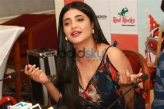 Shruti Haasan Promote Behen Hogi Teri Movie In New Delhi