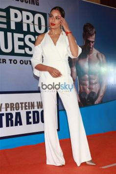 Actress Bipasha Basu At Launch Of Paras Dairy In New Delhi