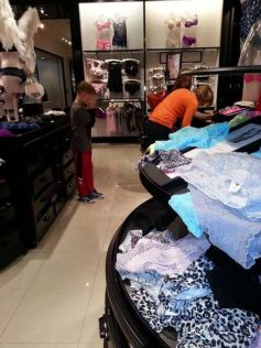 Shopping With Children Goes Wrong