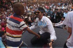 Arjun Rampal And Aishwarya Rajesh At Dahi Handi Ghatkopar