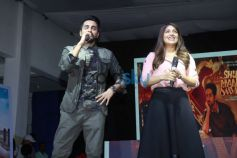 Ayushman Khurana & Bhumi Pednekar At Promotions Of Shubh Mangal Saavdhan
