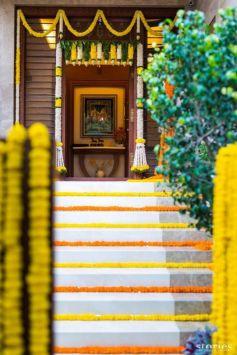 Beautiful Ganesh Chaturthi Home Decoration