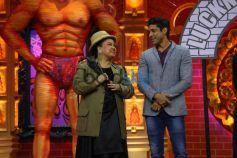 Farhan Akhtar And Diana Penty promote Lucknow Central on Comedy Dangal