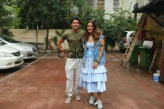Farhan And Neha Spotted Before The Recording Of Their Eposode For Nofilterneha Season 2