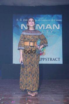 Huma Qureshi At Podar Collage