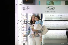 Misha Kapoor Spotted With Her Granny