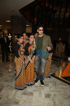 Jacqueline Fernandez And Sidharth Malhotra Spotted In New Delhi