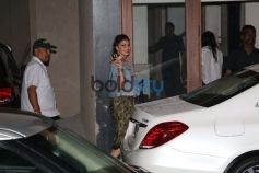 Jacqueline Fernandez Spotted At Sidharth Malhotra House For Dinner.