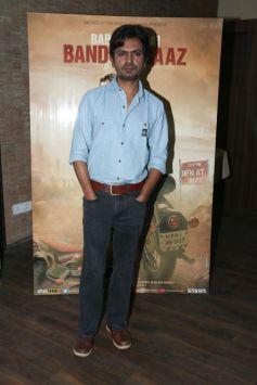Nawazuddin Siddiqui For Babumoshai Bandookbaaz Promotion