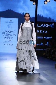Neha Dhupia & Kabir Bedi At Lakme Fashion Week Day 2