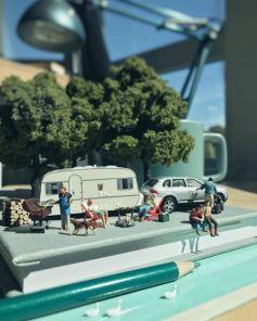 Office Frustrations Seen In Miniature Art