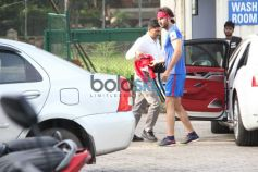 Ranbir Kapoor And Other Celebs Spotted For Sunday Football Match