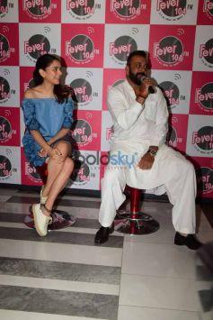 Sanjay Dutt And Aditi Rao Hydari Promote Bhoomi At A Radio Station