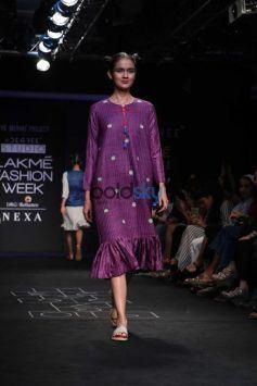 Sanya Malhotra At Lakme Fashion Week