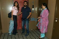 Shilpa Shetty Along With Family Spotted At Juhu PVR