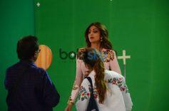 Shilpa Shetty Shoots For Super Dancer