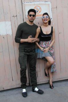 Sidharth Malhotra,Jacqueline Fernandez For Gentleman Promotions.