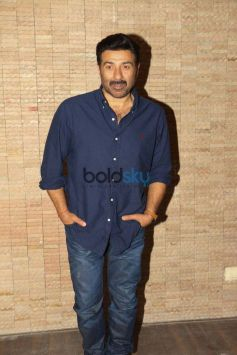 Sunny Deol And Bobby Deol Promote Poster Boys At Classic Raheja