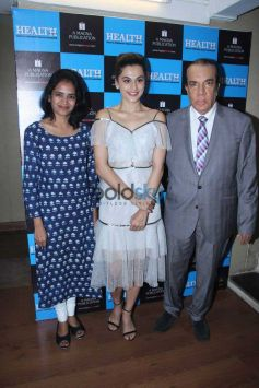 Taapsee At Health Nutrition Launch.