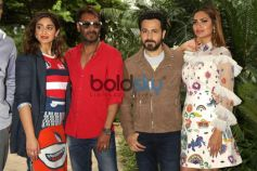 The Cast Of Baadshaho At A Press Meet In New Delhi