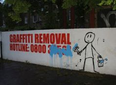The graffiti removal hotline probably didnt see this one coming