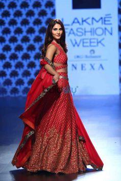 Vaani Kapoor,Nargis Fakhri And Maria At Lakme Fashion Week