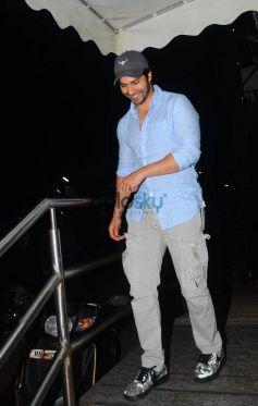Varun Dhawan Spotted At Juhu PVR