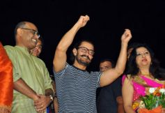 Aamir Khan Attends Navratri Pooja In Vadodara