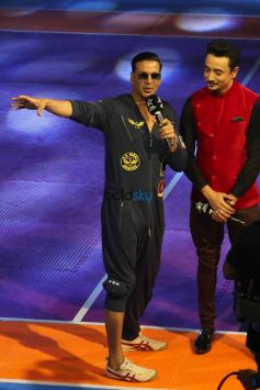 Actor Akshay Kumar At The Pro Kabaddi