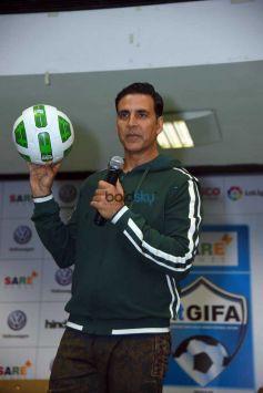 Akshay Kumar At HT GIFA Event In New Delhi