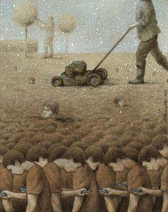 Brilliant Sarcastic Illustrations By Pawel Kuczynski