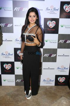 Celebs Grace At Fitzupp In Mumbai