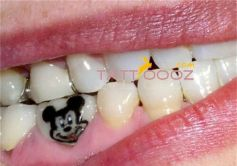 Cool Teeth Tattoo Images And Pictures!