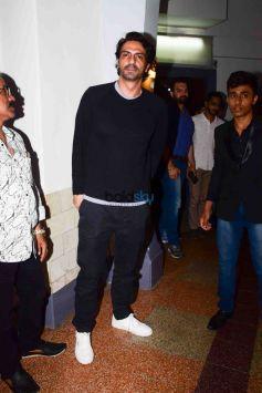 Daddy Screening For Arun Gawli Family With Arjun Rampal