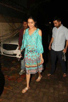Haseena Parkar Special Screening At Sunny Super Sound